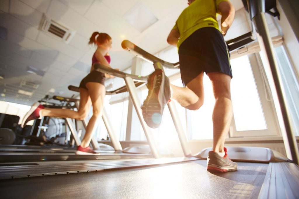 why do treadmills feel faster